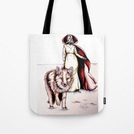 Follow Me, Said the Fox Tote Bag