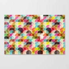 Circle Colorful Canvas Print