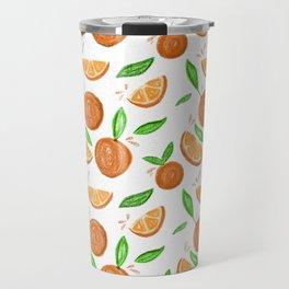 Happy Oranges Travel Mug
