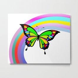 Butterfy Metal Print