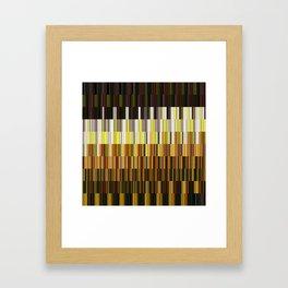 Kaleidoscope | Flower Field Framed Art Print