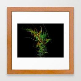 Sweet Leaf Framed Art Print