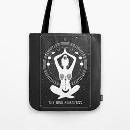 Minimal Tarot Deck The High Priestess Tote Bag
