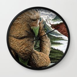 The Earth Golem Wall Clock