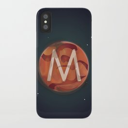 M is for Mars. iPhone Case