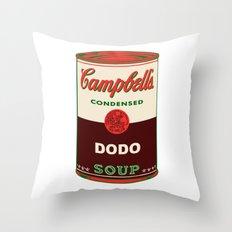 Dodo Soup Throw Pillow