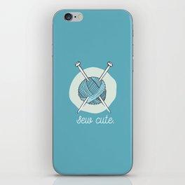Sew Cute. iPhone Skin