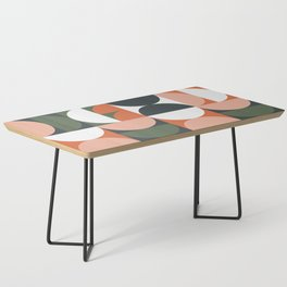Mid Century Geometric 16 Coffee Table
