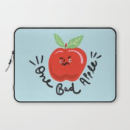 One Bad Apple - cute kawaii funny character illustration Laptop Sleeve