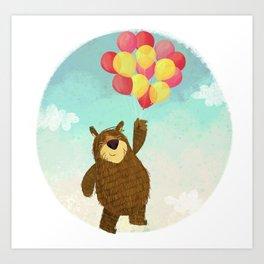 The Bear. Art Print
