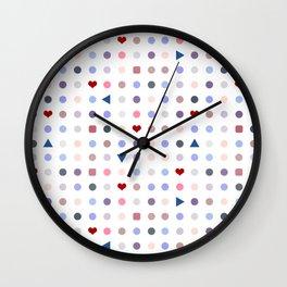 Arcade Pattern Wall Clock