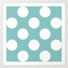 Tiffany Dots Art Print