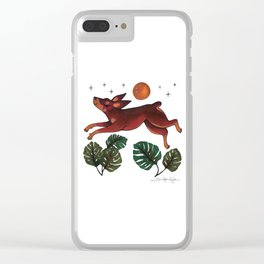 All Dogs Go To Heaven Clear iPhone Case