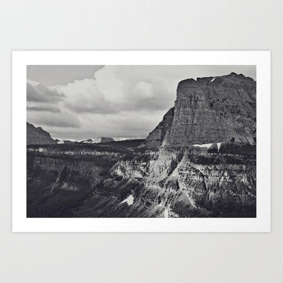 Morning Mountain Drive Art Print