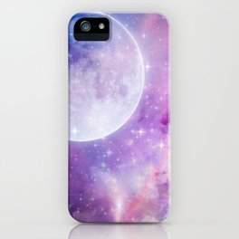 Pastel Celestial Skies iPhone Case