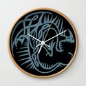 Celtic Knotwork Deadly Nadder (Blue) by songwinters