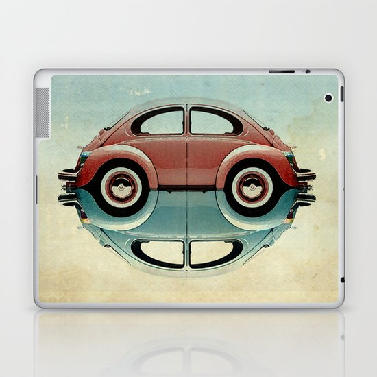 4 speed Bug Laptop & iPad Skin
