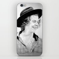 harry iPhone & iPod Skins featuring HARRY by Drawpassionn