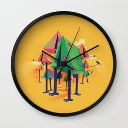 Camp Wall Clock