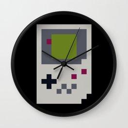 GB PIXEL PATTERN Wall Clock