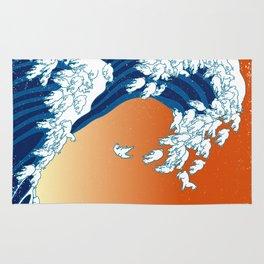 Llama Waves Rug