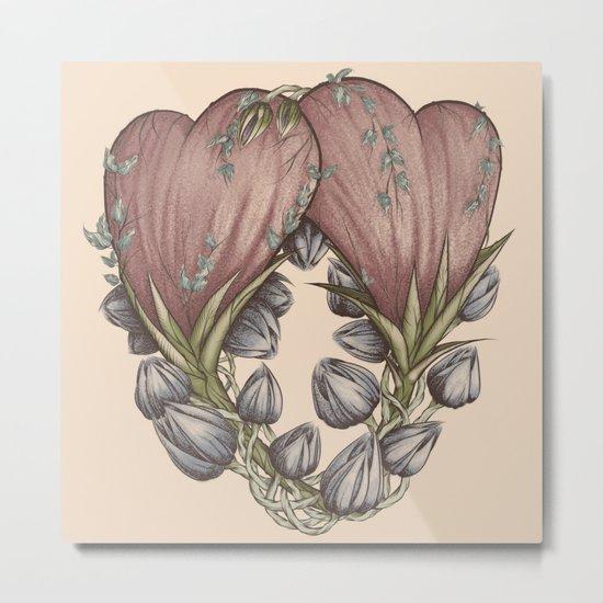 Love Grows Metal Print