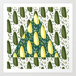 Marching in style Art Print