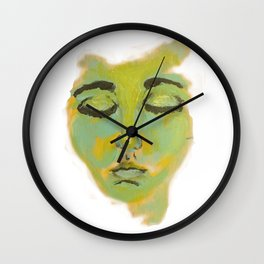 State Change - Close your eyes Wall Clock
