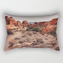 Warm and beautiful Rectangular Pillow