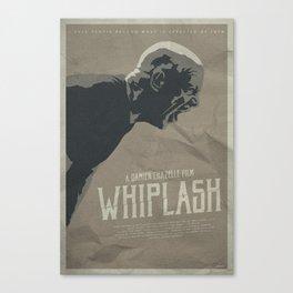 Not My Tempo - Whiplash Canvas Print