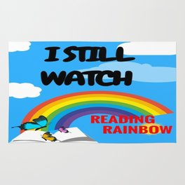 Reading Rainbow Rug