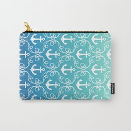 Nautical Knots Ombre Carry-All Pouch