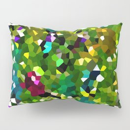 Pineapple Abstract Geometric Pillow Sham