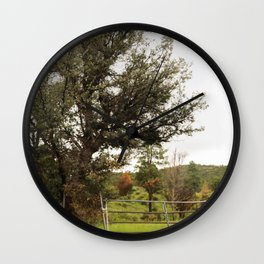 Western Image Wall Clock