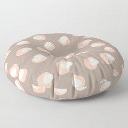 Bisque leopard Floor Pillow