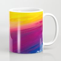 skyfall Mugs featuring Skyfall by Sierra Christy Art