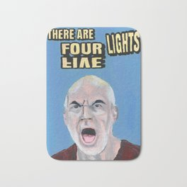There Are Four Lights Bath Mat