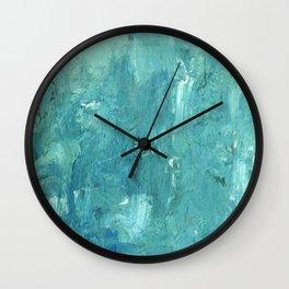 Glacier Mist Wall Clock