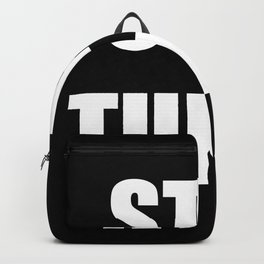 STAY TUNED Backpack