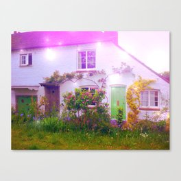 Enchanted Cottage Canvas Print