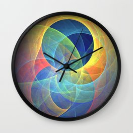 Bad Moon On The Rise Wall Clock