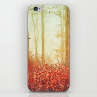 silence of the lambs iPhone & iPod Skins featuring silence by Dirk Wuestenhagen Imagery