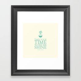 Top Of This Wonderful World Framed Art Print