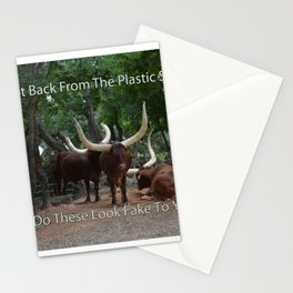 Steer Meme Stationery Cards