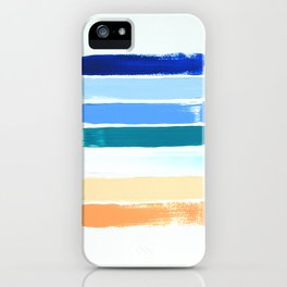 Beach Stripes iPhone Case