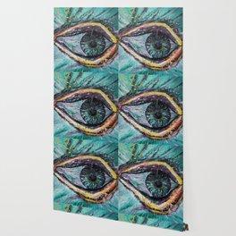 Eye in green Wallpaper