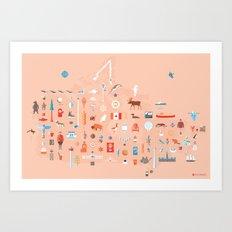 From C to Shining C Art Print