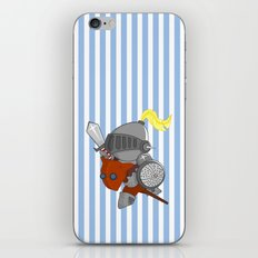 little knight in armor iPhone & iPod Skin