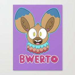 Bwerto Canvas Print