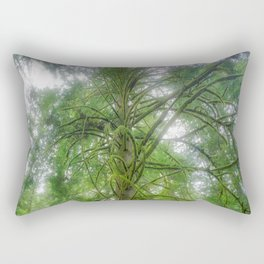 Ethereal Tree Rectangular Pillow